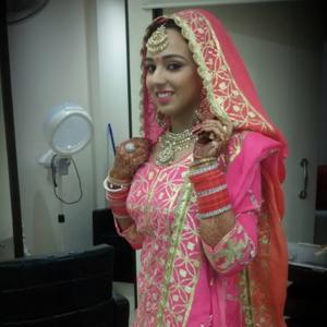 Orane bridal makeup