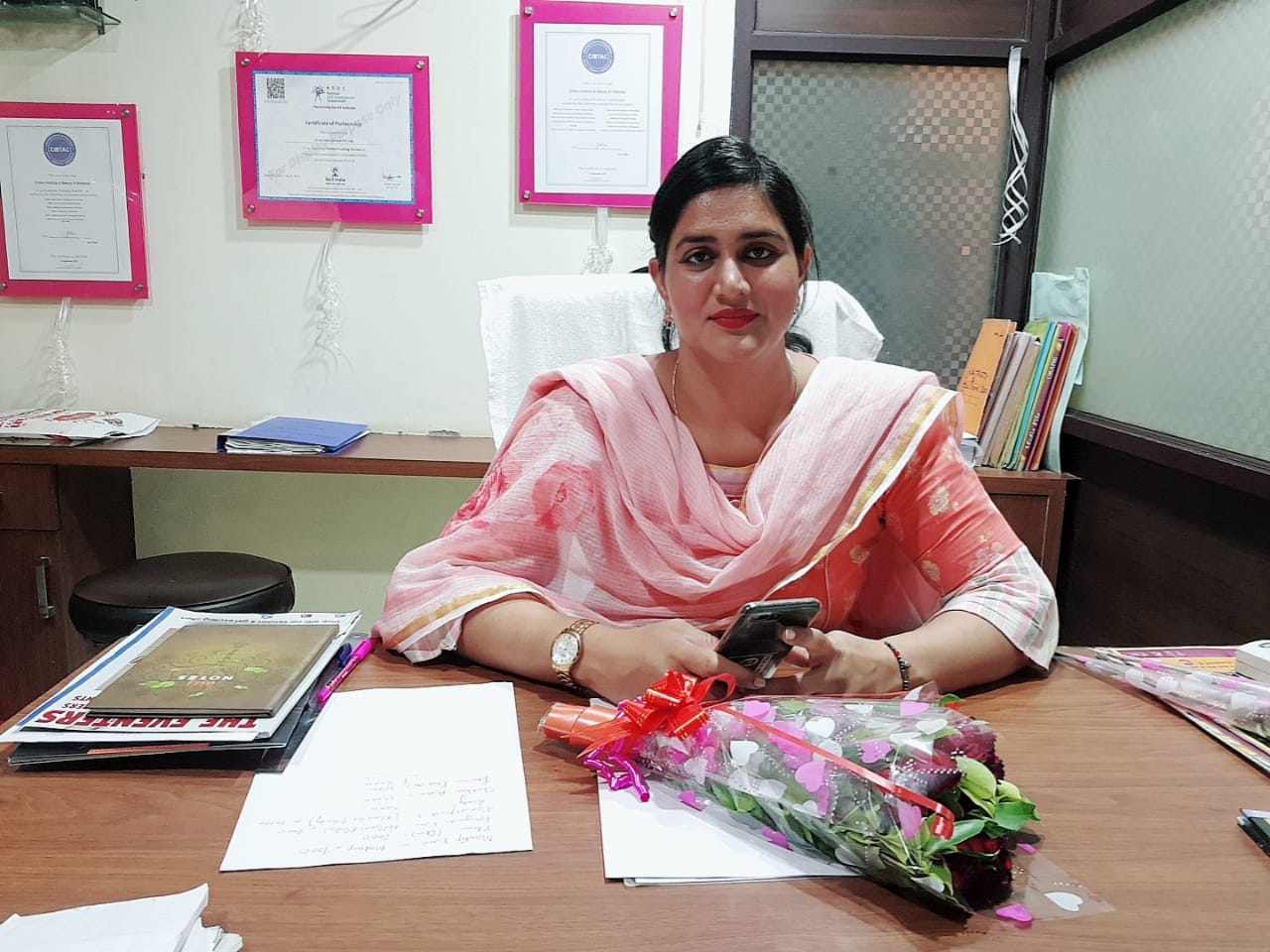Ms. Amanjot Kaur <br/>  Franchise at Jaitu  <br/>+91985586363